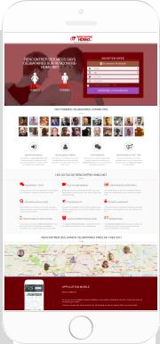 Application Mobile Rencontres Femmes Cougars Célibataires